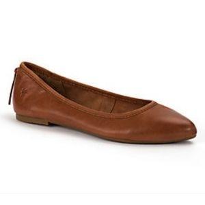 Frye regina ballet point toe flat shoe